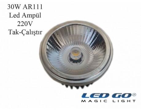 AR111 LED AMPUL,30W,220V