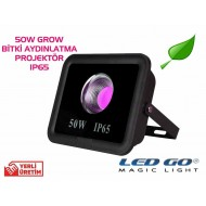 CP-GROW-50, 50W LED Projektör,Bitki Yetiştirme Full Spectrum,220V