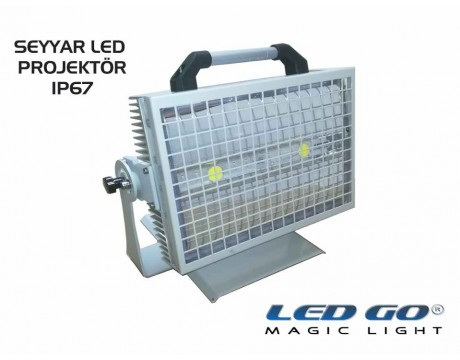 CPS-X2-100 24V, Seyyar COBLed Projektör, 24V AC-DC,IP67