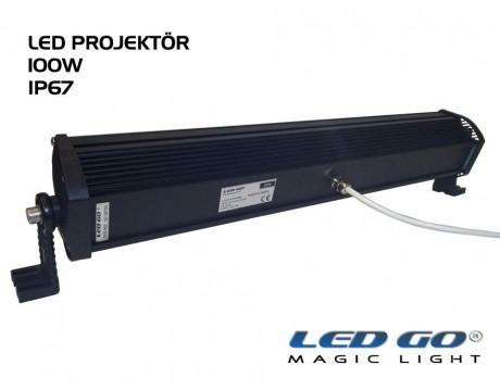 EP-100, ELIT SERISI ,SMDLED PROJEKTOR, 100W, 220V, IP67