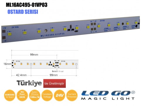 ML16A495-01VP35 LEDBAR 24V DC