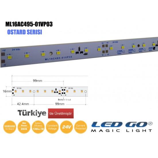 ML16A495-01VP35 LEDBAR 24V DC