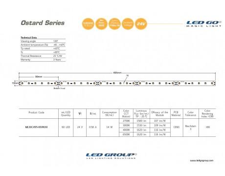 ML10C495-01VN30 LEDBAR 24V DC
