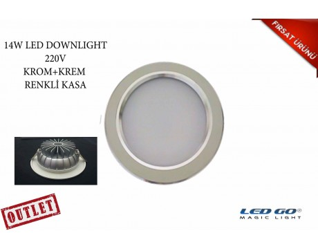 14W ÇİFTRENK LED DOWNLIGHT