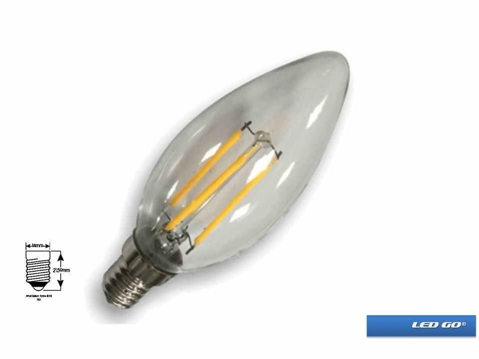 CFB-04 LED FLAMENLİ MUM AMPUL E14 DUY 4W