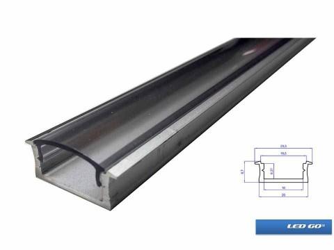 D-TIPI ŞERİTLED ALUMINYUM KANAL/PROFIL 200CM