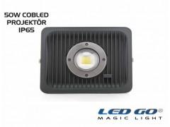 CP-ECO-46-24V AC-DC COBLED PROJEKTÖR ,46W,IP65