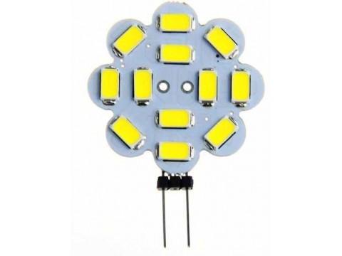 G4 12ADET 5630SMD LED LAMBA 8-36VDC, 2.8W