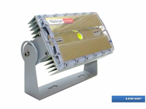 CP-X1-46-24V, COBLed Projektör, 46W, 24V AC-DC, IP67, Polikarbon Cam