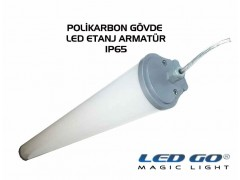 LET-20PCE LED POLIKARBON ETANJ ARMATÜR ,620mm 20W,220V,IP65