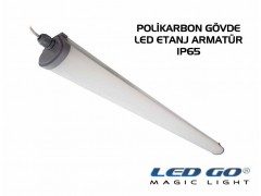 LET-40PCE LED POLIKARBON ETANJ ARMATÜR ,1220mm 40W,220V,IP65