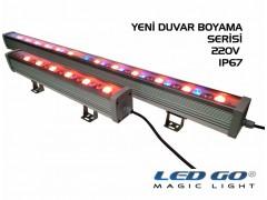 18W,RGB DUVAR BOYAMA,RF KUMANDALI,220V,50CM