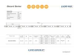 ML10C495-01VN30   2835 LEDBAR-50CM-60LED/M-24VDC CEM1 PCB 10mm OSRAM/SAMSUNG LED