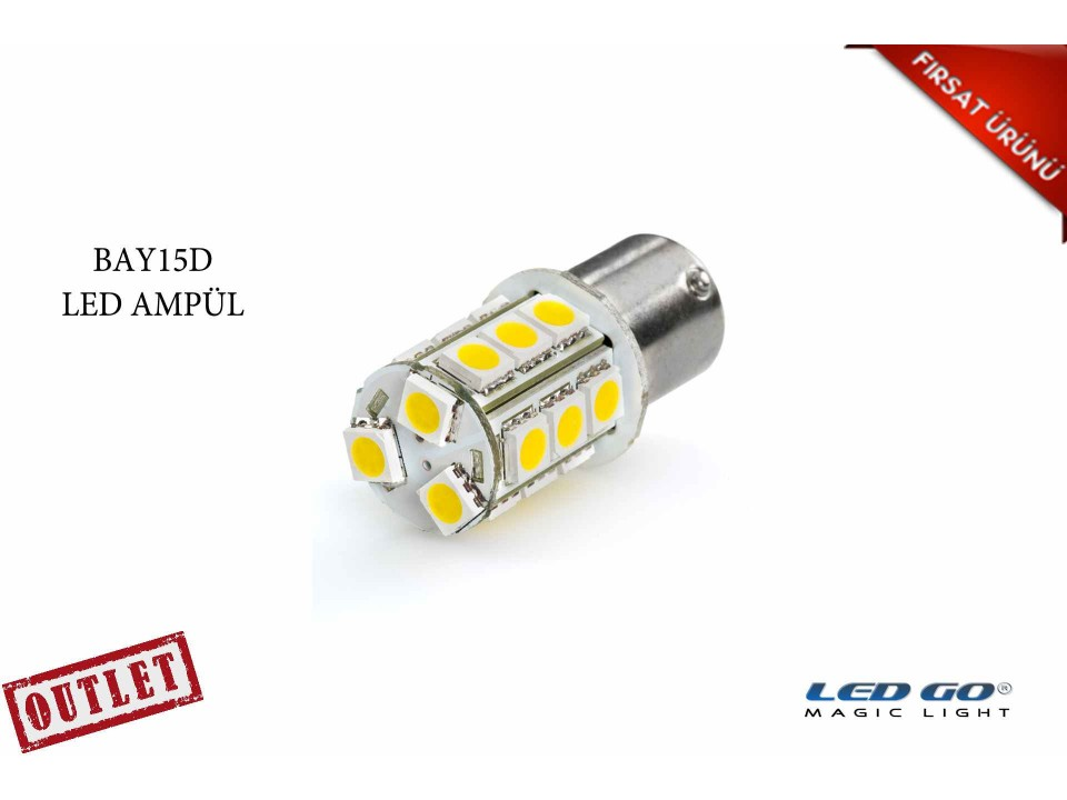 3W BAY15D LED AMPÜL