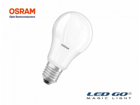 OSRAM LED VALUE CLASSİC A 60 E27 DUYLU 9,5W 806LM 2700K SARI IŞIK LED AMPUL