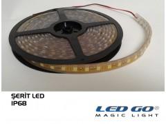 SERIT LED 5050-300LED ESNEK TAM SILIKONLU, IP68, 12VDC, 1.KALİTE